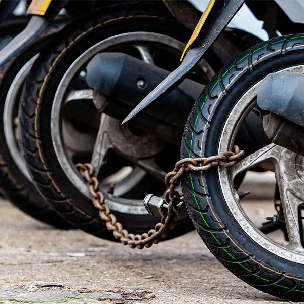הבהרות לרוכשים שרשראות לקשירת אופנועים
