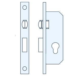 מנעולים חבויים לדלתות - רול גלגלון