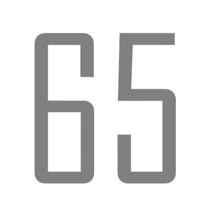 צילינדרים במידות של 65 ממ